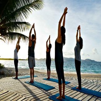 Yoga at CuisinArt Anguilla