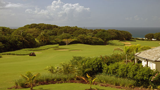 View from a villa at the Royal Westmoreland in Barbados