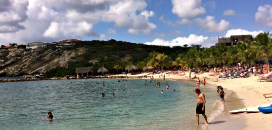 Blue Bay Beach in Curacao