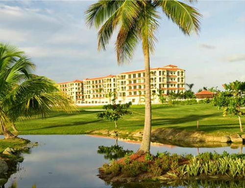 Coco Beach in Puerto Rico is home to four nines and is outfitted with four different tee boxes.
