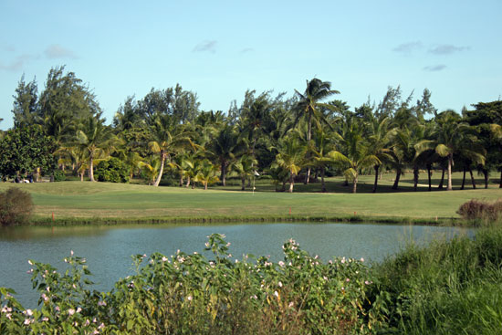Par 3 Hold #16 at the Barbados Golf Club