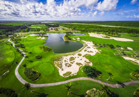 Corales Golf course in the Dominican Republic