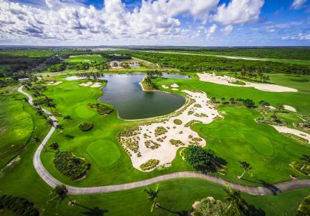 Corales Golf course in the Dominican Republic
