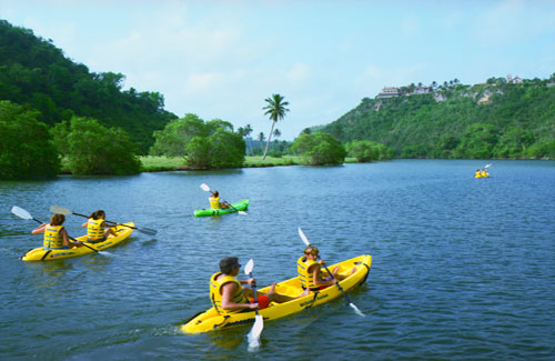 Kayaking at Casa de Campo