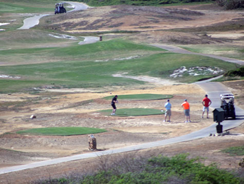 Tierra del Sol Golf Course in Aruba