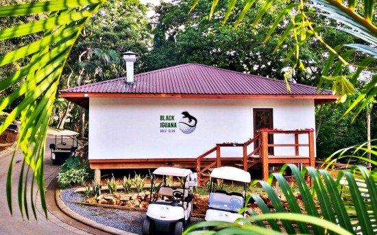 Black Iguana Golf Club In Roatan Honduras