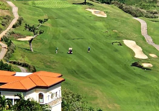 Open fairways at the Black Pearl Golf Course in Roatan Honduras