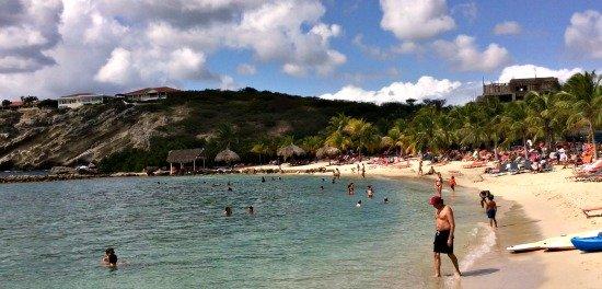 Blue Bay Beach in Curacao