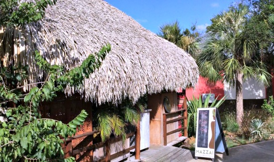 The Mazzai Spa at the Morena Eco Resort in Curacao