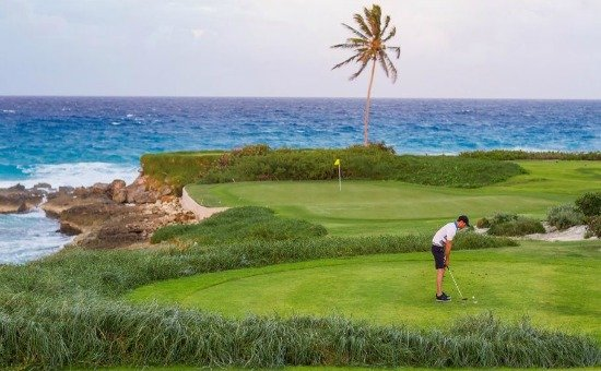 Sandals Emerald Bay Golf Course in the Bahamas