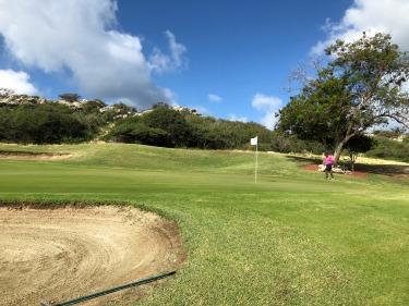 Blue Bay Golf Course in Curacao