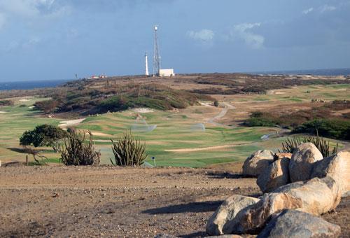 Ocean views at Tierra del Sol golf course in Aruba